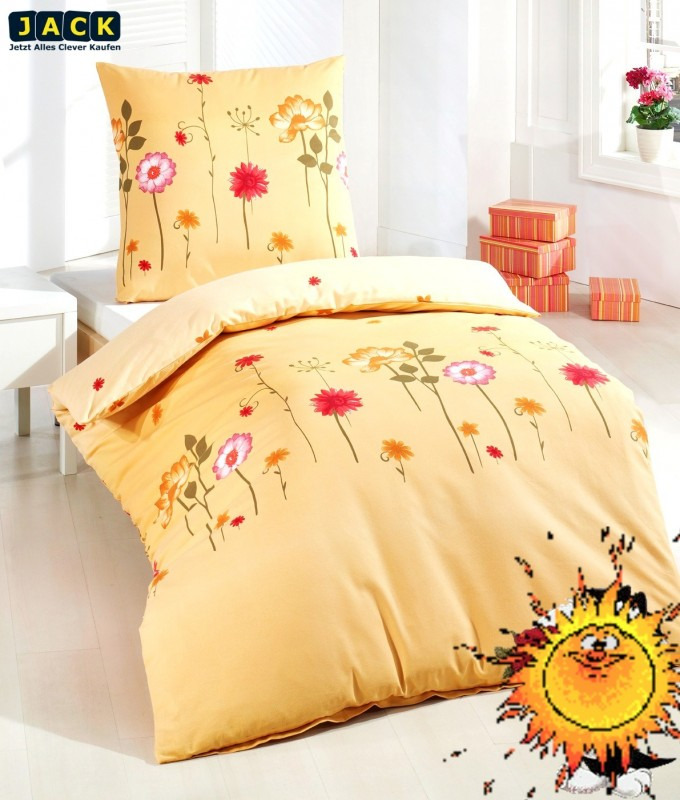 neu edel flanell bettw sche chinchilla weich 135x200 cm blumen terra ebay. Black Bedroom Furniture Sets. Home Design Ideas