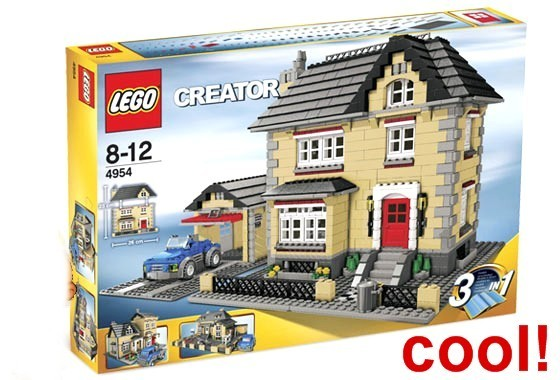 lego creator 4954 stadthaus haus villa town house selten rarit t sammlerst ck ebay. Black Bedroom Furniture Sets. Home Design Ideas