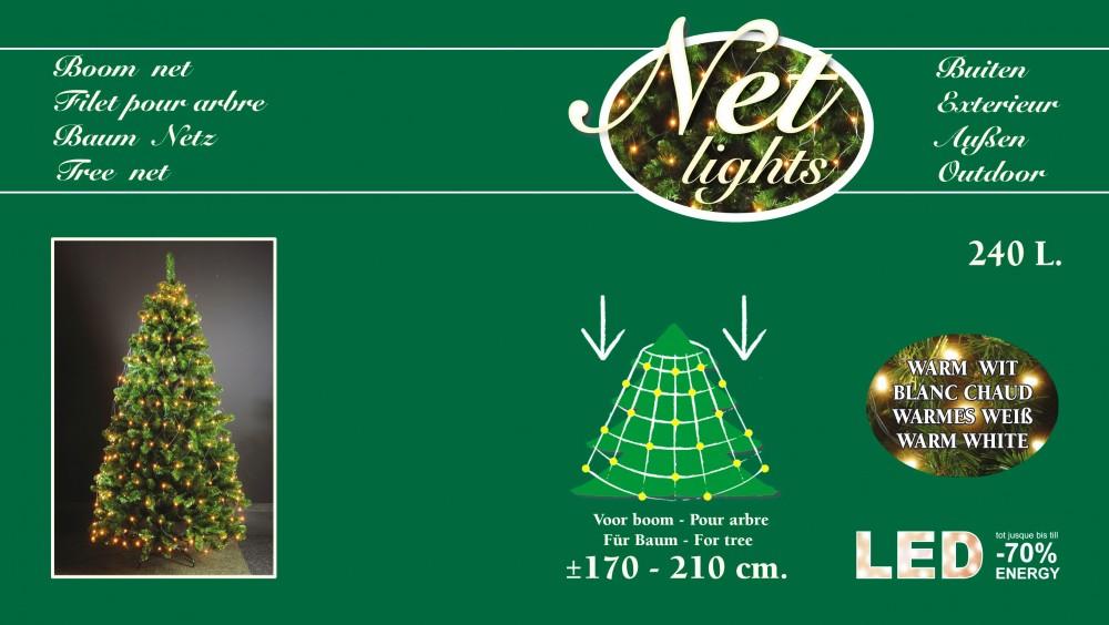 240 led lichterkette trapez kegel warmwei baum netz weihnachtsbaum beleuchtung ebay. Black Bedroom Furniture Sets. Home Design Ideas