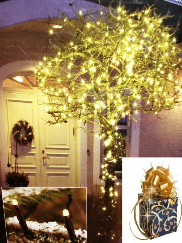 led lichterkette konstsmide 3609 110 warmwei 20 leds 3 04m au en licht kette ebay. Black Bedroom Furniture Sets. Home Design Ideas