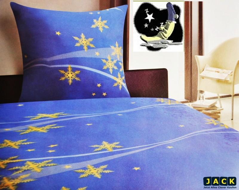 microfaser fleece bettw sche 135x200cm sterne gold rei verschluss mikrofaser ebay. Black Bedroom Furniture Sets. Home Design Ideas