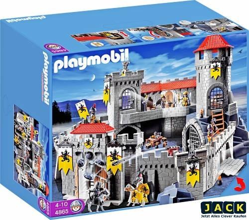 Playmobil 4865 gro e l wenritterburg ritter burg schlo for 4865 playmobil