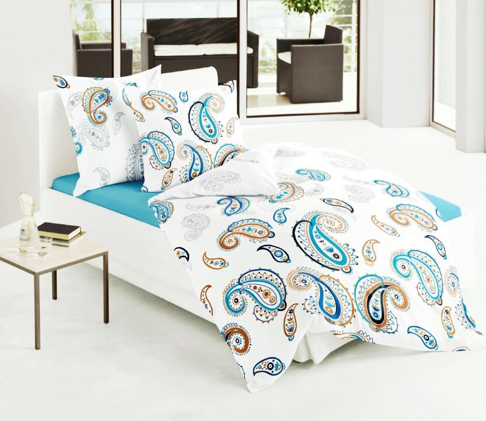 bierbaum seersucker bettw sche 135x200cm 2 tlg paisley. Black Bedroom Furniture Sets. Home Design Ideas