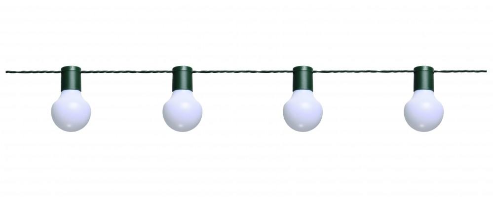 led partylichterkette 10m wei e leds 20er 5cm. Black Bedroom Furniture Sets. Home Design Ideas