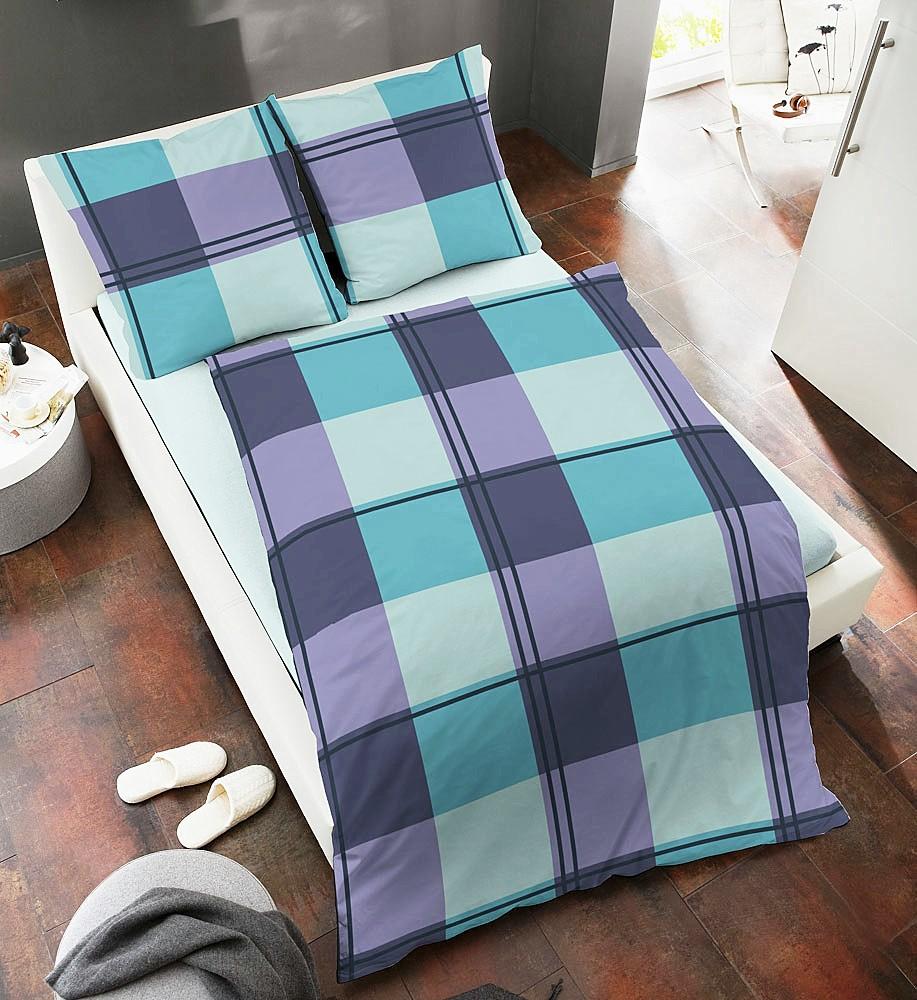 dormisette fein biber bettw sche 135x200cm karos 2 tlg rei verschluss ko tex ebay. Black Bedroom Furniture Sets. Home Design Ideas