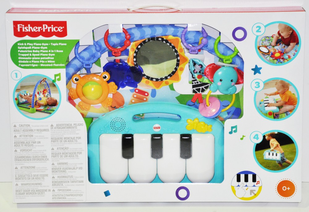fisher price piano gym instructions