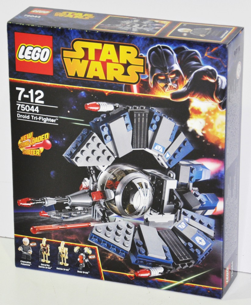 lego 75044 star wars droid tri fighter ebay. Black Bedroom Furniture Sets. Home Design Ideas