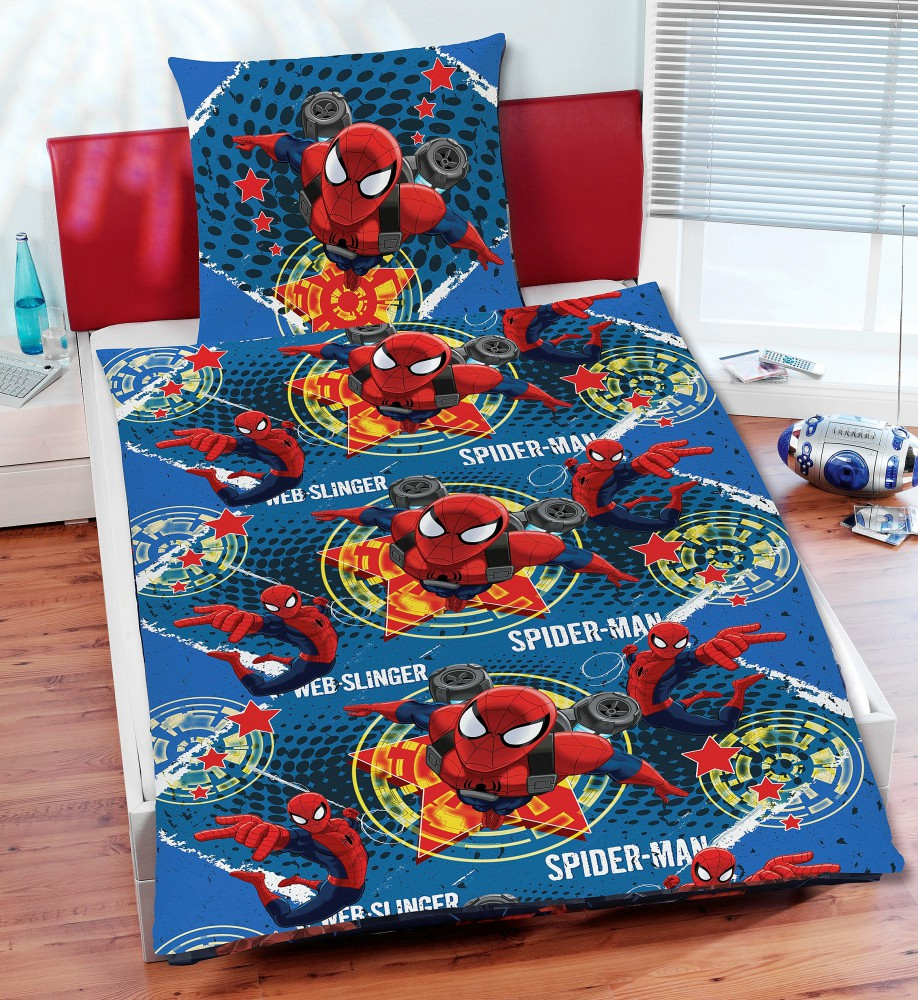 disney marvel mikrofaser bettw sche 135x200cm planes cars fairies spider man bettw sche. Black Bedroom Furniture Sets. Home Design Ideas