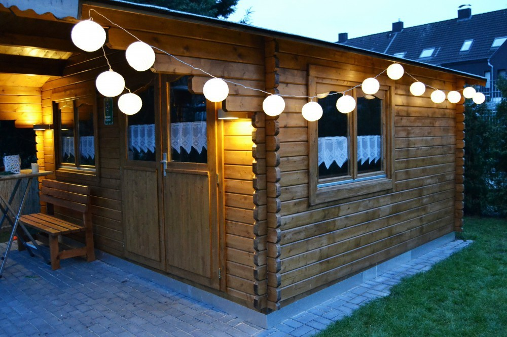 20 xxl lampion led partylichterkette 9 50m warmwei e leds garten party licht marken fhs. Black Bedroom Furniture Sets. Home Design Ideas