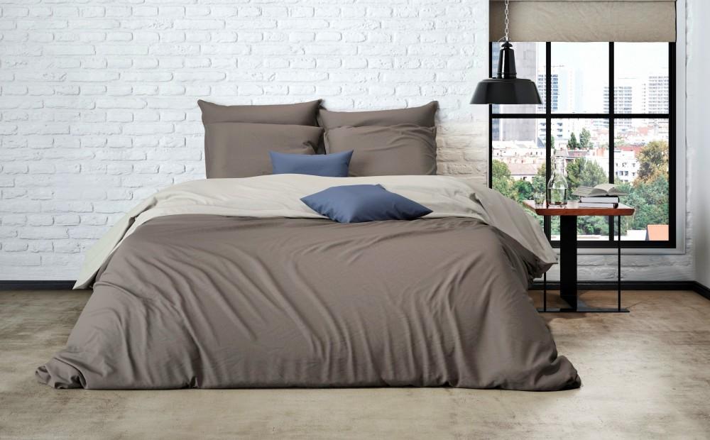 uni wende bettw sche mistral home edel perkal 100 gyptische baumwolle ko rv. Black Bedroom Furniture Sets. Home Design Ideas