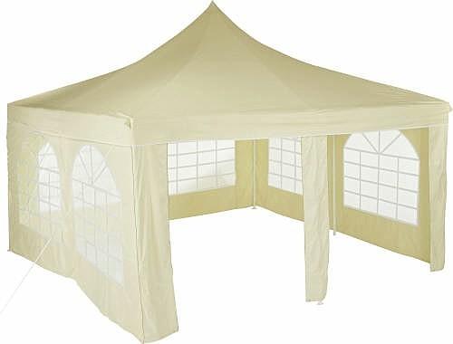 pavillon paris ersatzteile weiss 4x4m stangen dach seitenteile verbinder metro haus garten. Black Bedroom Furniture Sets. Home Design Ideas