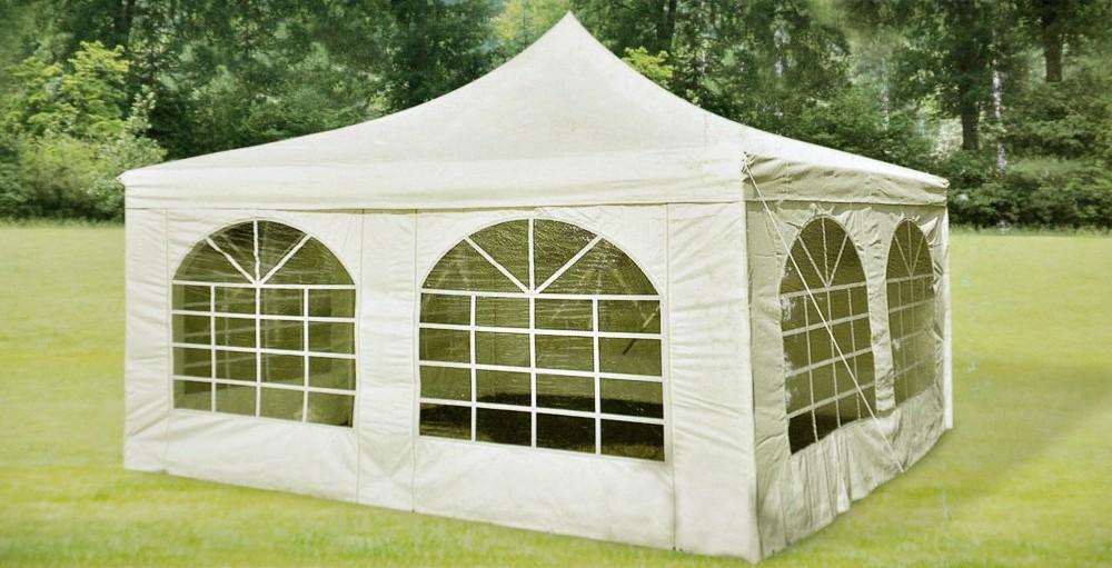 pavillon paris ersatzteile weiss 4x4m stangen dach. Black Bedroom Furniture Sets. Home Design Ideas