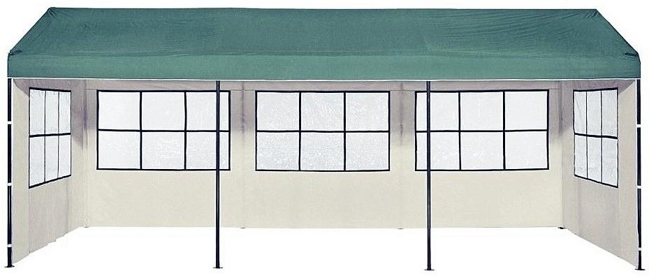 pavillon four season ersatzteile 3x6m dach seitenteile verbinder creme gr n haus garten. Black Bedroom Furniture Sets. Home Design Ideas