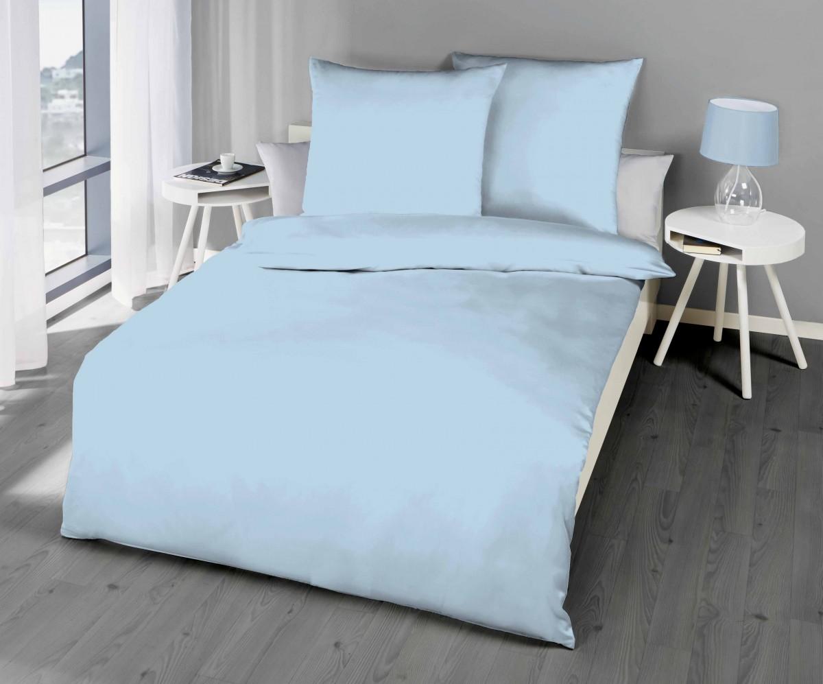 kaeppel biber bettw sche uni gelb sand lind hellblau terra bettw sche uni bettw sche. Black Bedroom Furniture Sets. Home Design Ideas