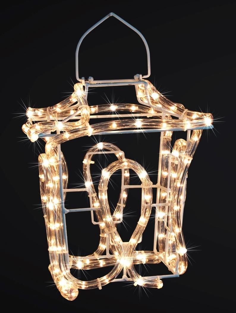 3d h ngelampe laterne 144 lampen lichtschlauch 21x21x24. Black Bedroom Furniture Sets. Home Design Ideas