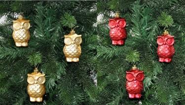 9x christbaumkugeln baum 5 5 x 10 5 cm kunststoff glitzer matt rot pink t rkis weihnachten. Black Bedroom Furniture Sets. Home Design Ideas