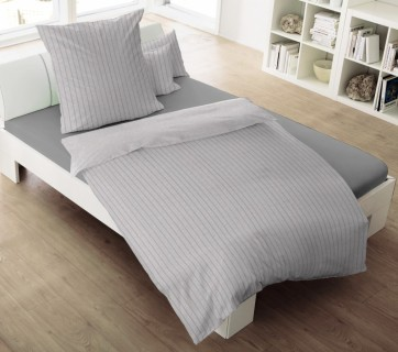 flanell bettw sche l we 135x200 cm 2 tlg biber sale. Black Bedroom Furniture Sets. Home Design Ideas
