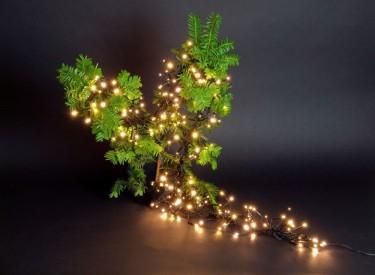 1152 soft led cluster lichterkette warmwei leds 9m b schel kluster lights weihnachten lichterketten. Black Bedroom Furniture Sets. Home Design Ideas