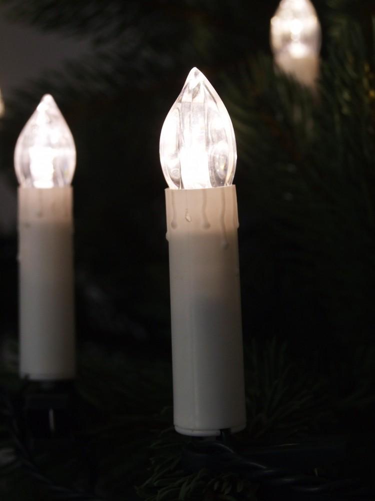 30 led kerzen weihnachtsbaumbeleuchtung au en innen christbaumkerzen kerzen marken fhs. Black Bedroom Furniture Sets. Home Design Ideas