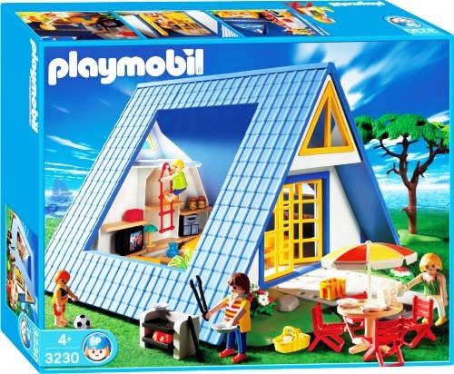 playmobil 3230 ferienhaus haus summer fun wohnhaus zubeh r ebay. Black Bedroom Furniture Sets. Home Design Ideas