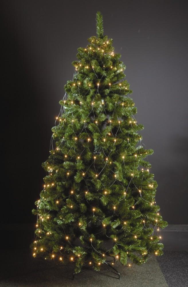 320 led trapez kegel warmwei f r weihnachtsbaum 210 250cm. Black Bedroom Furniture Sets. Home Design Ideas